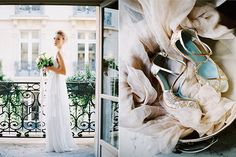 Katie Stoops Photography | Musee Rodin-Paris wedding | destination wedding | wedding shoes | wedding dress | wedding bouquet | bridal bouquet