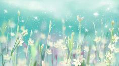 Magical Dragonflies in the Garden of Light - Flowers Wallpaper ID 1050216 - Desktop Nexus Nature