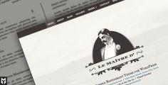 Le Maitre d': Super Simple Restaurant WP Theme