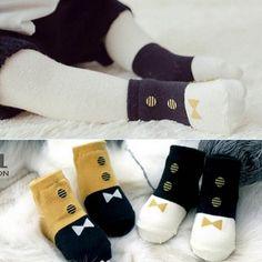 calcetines hasta la rodilla Cartoon antideslizantes para beb/és y ni/ños peque/ños ANBET 4 paquetes de medias hasta la rodilla para beb/és
