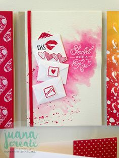 Stampin' Up! Sealed with love bundle, Juana Ambida Independent Stampin' Up!® Demonstrator Australia: Sending Love Suite -