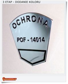 Polska odznaka OCHRONA lub DETEKTYW