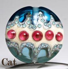 Handmade Lampwork Bead.