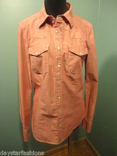 Gap 1969 Western Blouse M  (Mention you saw this on Pinterest and receive 1 dollar off!)