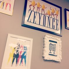 And with that final touch, the #Zest gallery wall was completed. We'd like to thank drywall for supporting us, lemons all over the world, and of course, Beyonce for giving us and the world #SingleLadies. #Zesty ✋