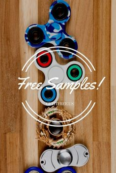 Free fidget spinners!  You don't have to pay anything or provide credit card info. You can just get FREE samples! New ones just posted. Sign up to get yours now, hot samples won't last.