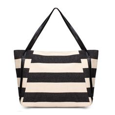 Casual Strap Canvas College Wind Women Handbag