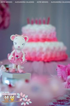 Kara's Party Ideas Angelina Ballerina Ballet Girl Dance Birthday Party Planning Ideas