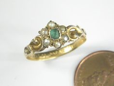 ANTIQUE ENGLISH POSY POESY RING 'CONSTANT PROVE TO THEE MY LOVE' c1680