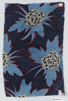 Textile Sample, Maria Vera Brunner, Wiener Werkstätte, 1917
