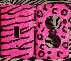 leopard and zebra lightsss