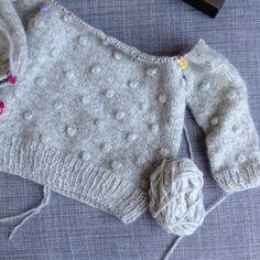 peales, Noppenpulli, Noppen stricken, poppcornsweater , Poppsweater