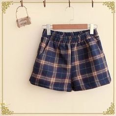 Buy 'Fairyland – Plaid Woolen Shorts' with Free International Shipping at YesStyle.com. Browse and shop for thousands of Asian fashion items from China and more!