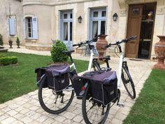 Our e-bikes:)!