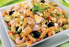 Recetas sanas y ricas: Ensalada italiana de pasta
