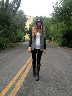 the inclined: Wellies
