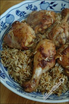 Heavenly Palate: [Afghani Chicken Pulao] National rice dish of Afghanistan (Kabuli palao) Pakistani Rice Recipes, Indian Food Recipes, Asian Recipes, Lebanese Recipes, Middle East Food, Middle Eastern Recipes, Afghanistan Food, Afghan Food Recipes, Afghan Rice Recipe