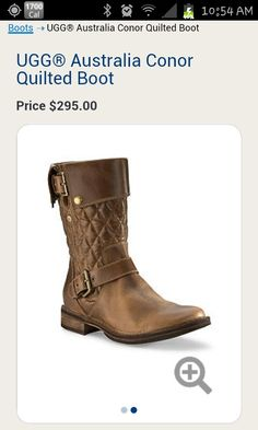 Love the bad ass look and comfort of these Ugg boots!