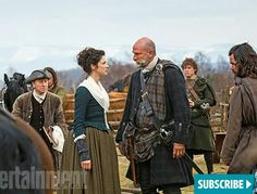Stop your havorin' woman!  Outlander episode 'Rent'