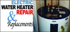 Electric Water Heater Repair Waco #WaterHeaterRepairWaco