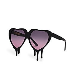 Oliver Goldsmith Sunglasses - Melting Love Hearts. #olivergoldsmith #lovehearts #sunglasses
