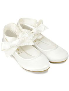 Girls off white rock glitter mary jane flats with glitter chiffon flower girls shoes mightylinksfo