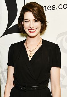 anne hathaway hair 2015 - Google Search                                                                                                                                                                                 More