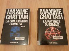 La conjuration primitive et la patience du diable de MAxime Chattam (Magali Saulnier)