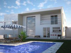 1000 images about houses on pinterest quartos for Casa moderna de 7 00m x 15 00m