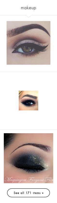"""""""makeup"""" by alizaya-love ❤ liked on Polyvore featuring beauty products, makeup, eye makeup, eyeliner, eyes, beauty, cosmetics, bellezza, eyeshadow and nyx"""