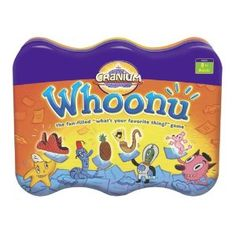 One Sided Sid -  Cranium Whoonu (Tin). great for social thinking & creating friend files.