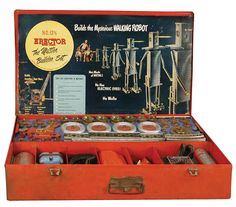 Erector sets. They were so interesting but only boys got them.