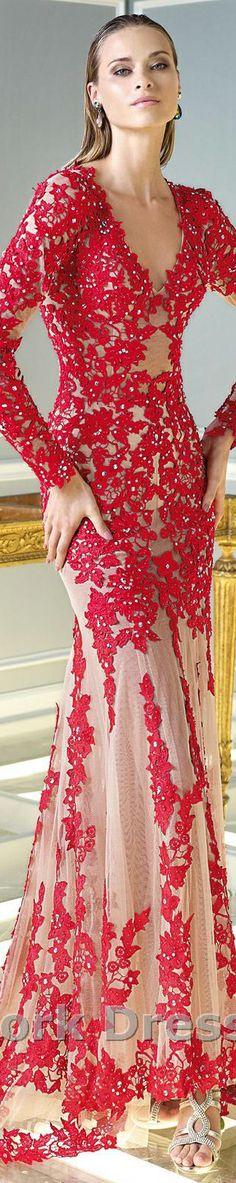 De rojo y seda, crochet irlandes.