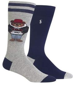 Ralph Lauren 2-Pack Socks Socks Men, Crew Socks, Polo Ralph Lauren, adf7433a9617