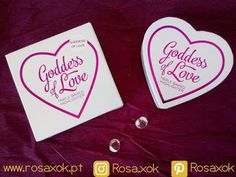 RosaXok: I Heart Makeup -  Blushing hearts (swatch)