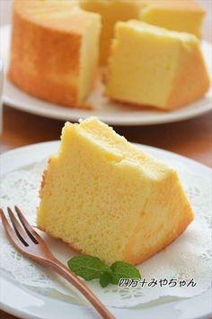 ホットケーキミックスで♪柚子のふわふわシフォンケーキ ☆ by 四万十 ...