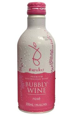 Barokes Premium Bubbly Rose NV South Eastern Australia 300ml - 24 Bottles Sparkling Wine, Pink Color, Wines, Bottles, Sparkle, Australia, Sea, Ocean