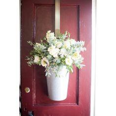 Salt Harbor Designs - door flowers