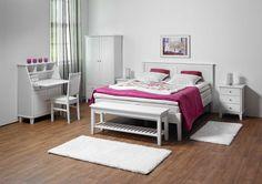 Laulumaa Huonekalut - Makuuhuone - Laulumaa Ida® - valkoinen