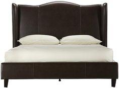 $929 Venice Wing Headboard King Bed - Beds - Headboards - Bedroom - Furniture | HomeDecorators.com