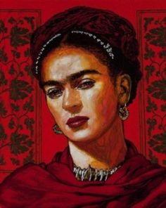 George Yepes painting of Frida