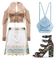 """Sirekl"" by ladyanyainny on Polyvore featuring мода, Topshop и MANU Atelier"
