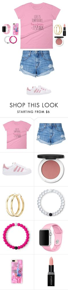 """""""RTD"""" by mermaid-princess-loves-music ❤ liked on Polyvore featuring Nobody Denim, adidas Originals, Charlotte Russe, Lokai, Apple and Smashbox"""