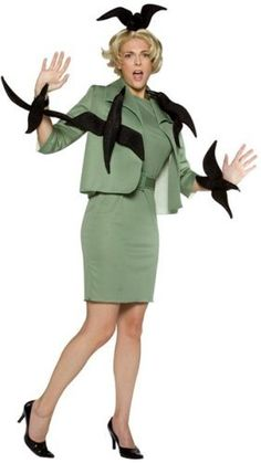 "Costume from Alfred Hitchcock's ""The Birds"" - love love love!"