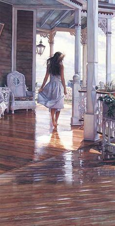 Steven Hanks:  Sunshine After the Rain