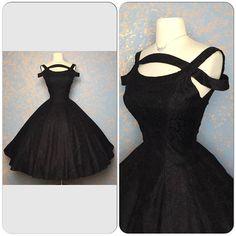 Designer Lace Vintage 1950s Suzy Perette New Look 50's