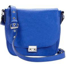 Sequoia ($40) ❤ liked on Polyvore featuring bags, handbags, shoulder bags, purses, bolsas, accessories, blue shoulder bag, blue handbags, handbags purses and shoulder handbags