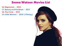Emma Watson Movies List Emma Watson Movies Emma Watson Movies List Emma Watson