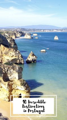 Portugal is a beautiful country, with each region and town having its own character & charm. Here are just 10 incredible destinations to visit in Portugal. Road Trip Europe, Travel Europe, Best River Cruises, Portugal Travel Guide, Portugal Holidays, Visit Portugal, Beautiful Castles, Europe Destinations, World Heritage Sites