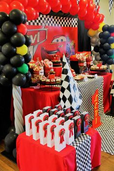 392 Best Cars And Trucks Party Ideas Images On Pinterest